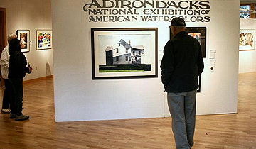 Adirondacks National Exhibition of American Watercolors